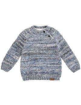 Petit Lem Heather Grey Knit Sweater