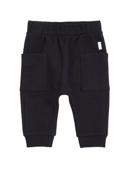 Petit Lem Black Knit Pants