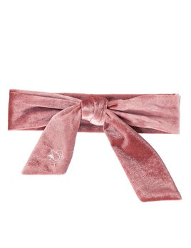 Birdz Pink Velour Headband