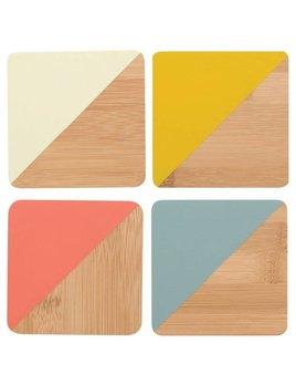 Danica/Now Colorful Bamboo Coasters