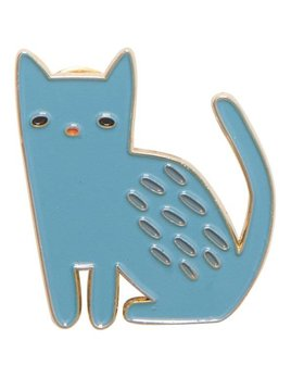 Danica/Now Cat Enamel Pin