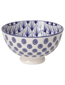 Danica/Now Stamped Blue Dots Bowl