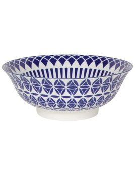 Danica/Now Blue Geo Stamped Bowl