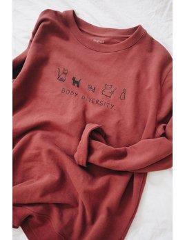 Mimi Hammer Sweatshirt Body Diversity