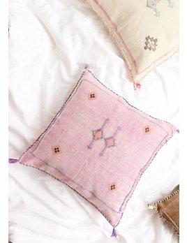 Purple and Yellow Kilim Pillow