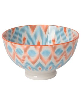 Danica/Now Orange Ikat Bowl