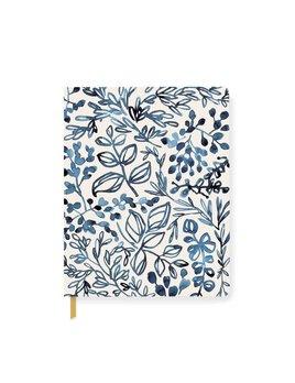 Fringe Studio Indigo Leaf Notebook