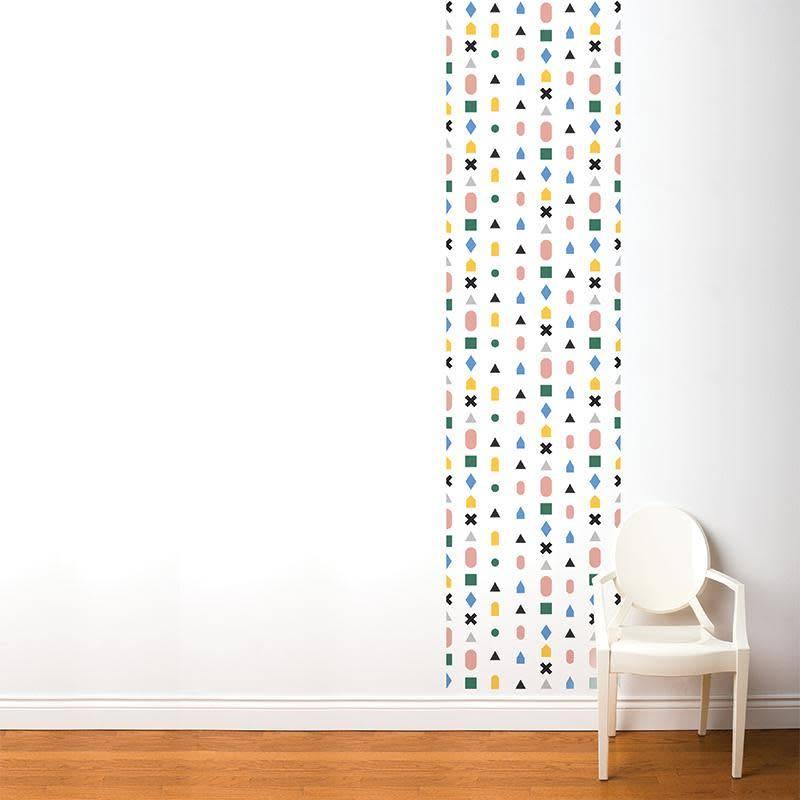 A D ZIF Multicolor Wallpaper