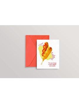 Oui Manon Greeting Card T'es Pas L'Pogo Le Plus Dégelé De La Boîte
