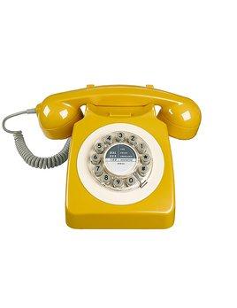 Wild&Wolf Téléphone Moutarde