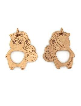Pois et Moi Wooden Unicorn Teether