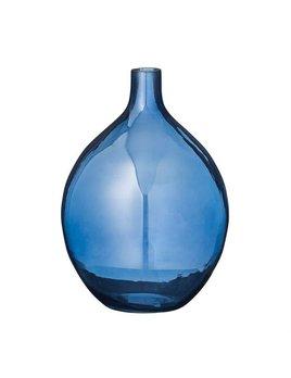 Bloomingville Vase Verre Marine