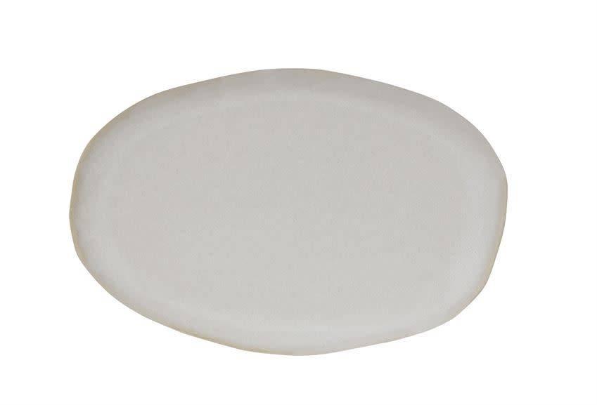 Bloomingville White Stoneware Tray