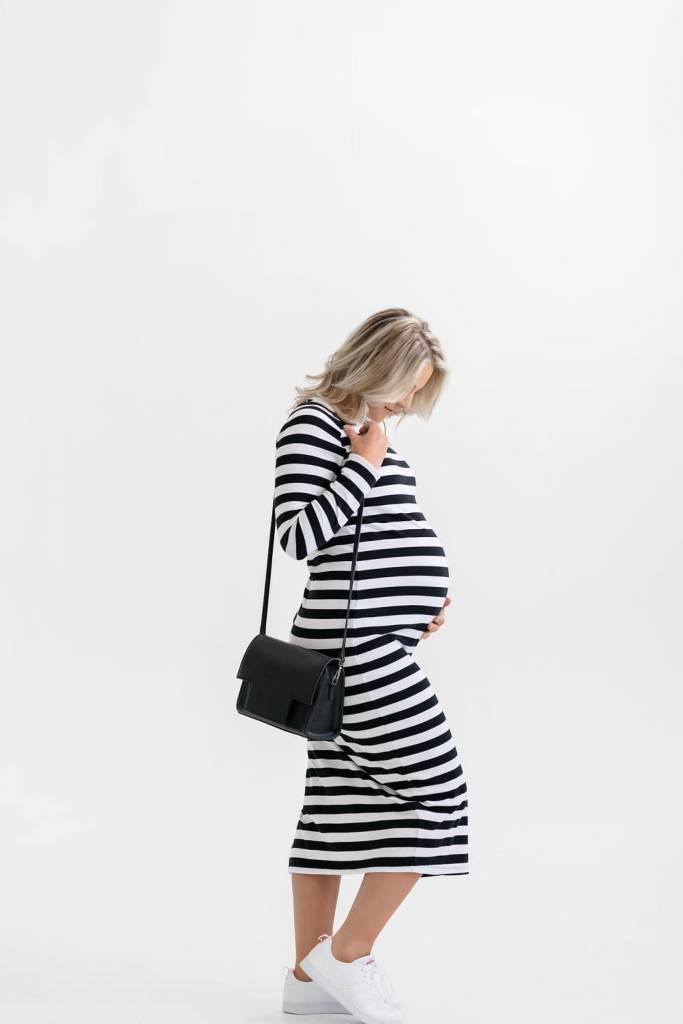 Rose Maternité Juliet Striped Dress