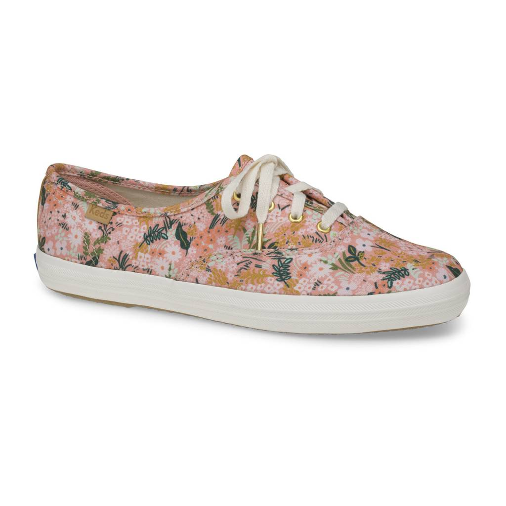Rifle x Keds  Champion Pink Meadow Shoes