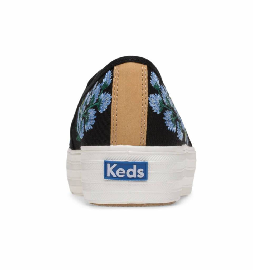 Rifle x Keds Floral Embroidery Triple Decker Shoes
