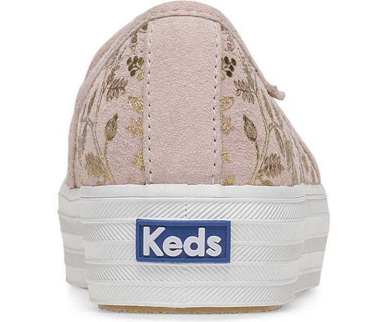 Rifle x Keds Forest Blush Triple Decker Shoes