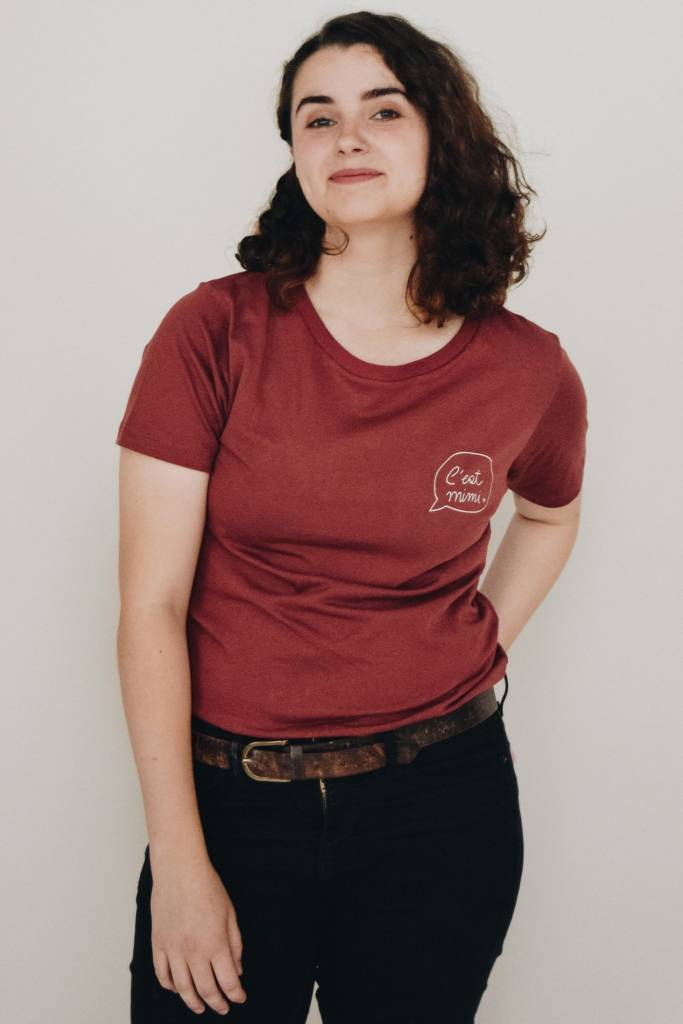 Mimi Hammer T-Shirt C'est Mimi - Burgundy