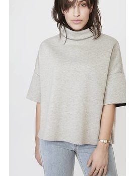 Lovan M Grey Anna Turtleneck