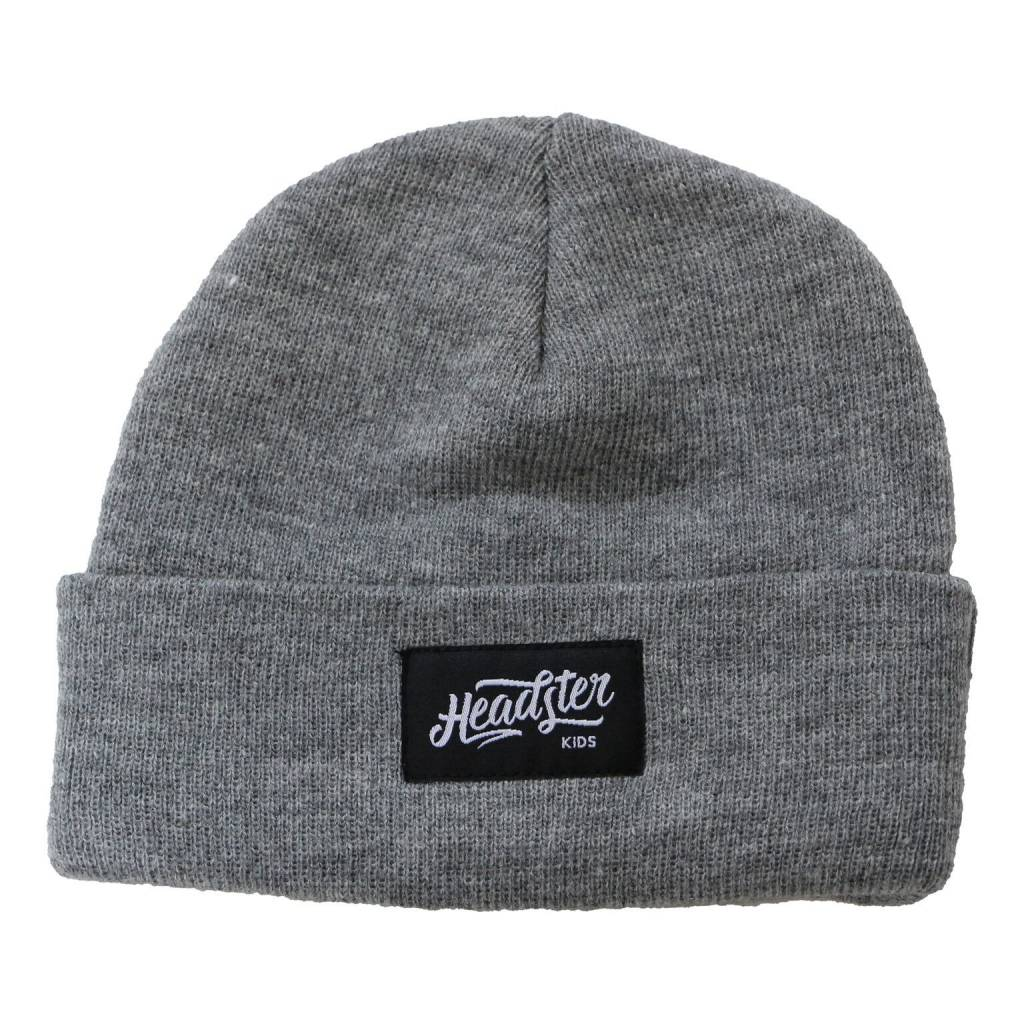 Headster Kids Lil Hipster Grey Beanie
