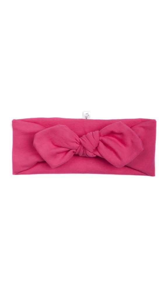Coton Vanille Extensible Fuschia Headband