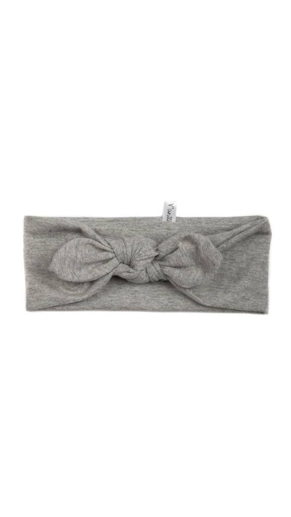 Coton Vanille Extensible Light Grey Headband