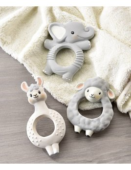 Lil Llama Animal Rubber Rattle - Multiple Choices