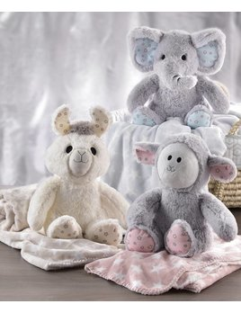 Lil Llama Blanket and Stuffed animal Combo