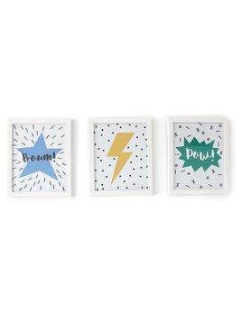 Gautier Studio Set of 3 Pez White Frames