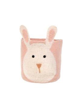 Indaba Pink Bunny Basket