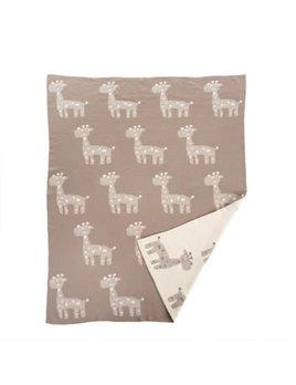 Indaba Giraffe Baby Blanket