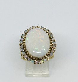 14Kt 6.8ct Opal Ring