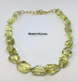 SeidenGang 18Kt Lemon Quartz Necklace