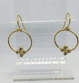 24kt Gurhan Diamond 3/4tcw Earrings