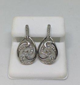 14kt 0.25 Diamond Earrings