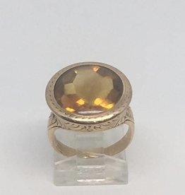 14kt Antique Citrine Ring