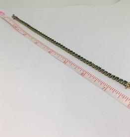 14kt Emerald Tennis Bracelet