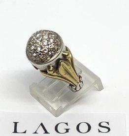 C Lagos Caviar Diamond Ring