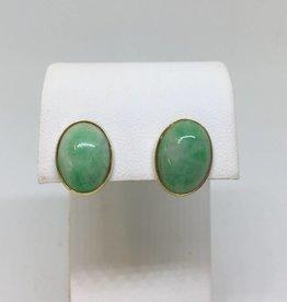 14kt Jade Earrings
