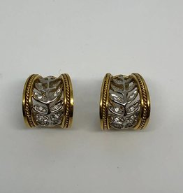 C 18kt Simon G Diamond Earrings