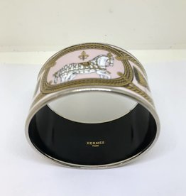 C Hermes Extra Wide Equestrian Bracelet