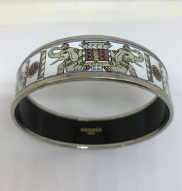 C Hermes Elephant Bracelet