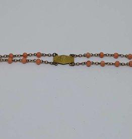Rolled Gold Coral Bracelet