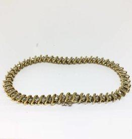 """18kt Diamond Bracelet 8"""""""