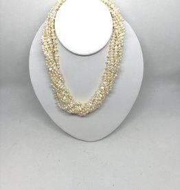 14kt Seed Pearl Necklace