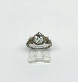 10kt Aquamarine Ring