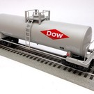 Lionel 6-17970 Dow Chemical Unibody Tank Car