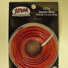 Atlas O 316 Atlas 50' red stranded wire, # 20 ga.