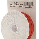 Atlas O 6941 Atlas 16 Gauge 100Fft Layout Wire - Red