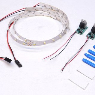 JW&A 20100 Passenger Car LED Lighting Kit
